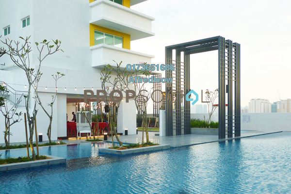 For Sale Condominium at Bayu Sentul, Sentul Freehold Unfurnished 3R/2B 450k
