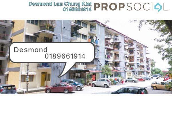 For Rent Condominium at Sri Lempah Flat, Kuchai Lama Freehold Semi Furnished 2R/2B 1.1k