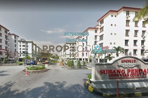 For Sale Apartment at Goodyear Court 10, UEP Subang Jaya Freehold Semi Furnished 3R/2B 395k