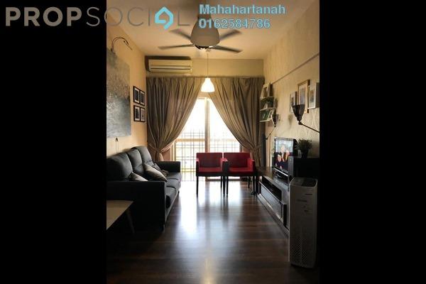 For Sale Apartment at Sri Lavender Apartment, Kajang Freehold Semi Furnished 3R/2B 300k