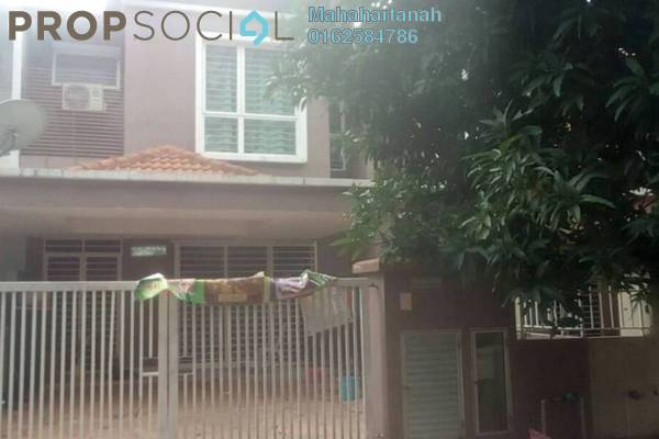 For Sale Terrace at Taman Puchong Prima, Puchong Freehold Semi Furnished 4R/3B 650k