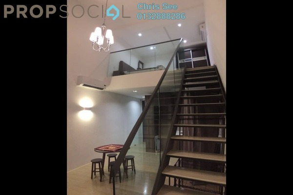 For Rent Duplex at The Square @ One City, Subang Jaya Freehold Fully Furnished 0R/1B 1.3k