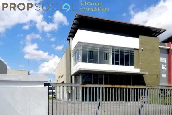 For Sale Factory at Semtec Park , Semenyih Freehold Unfurnished 1R/2B 5.3m
