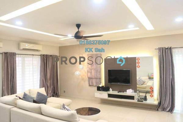 For Sale Superlink at Taman Sri Putra Mas, Sungai Buloh Freehold Fully Furnished 4R/3B 860k