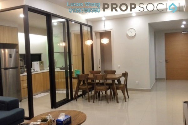 For Sale Condominium at The Leafz, Sungai Besi Freehold Fully Furnished 3R/3B 860k
