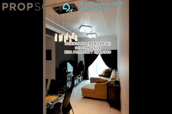 For Sale Apartment at Courtyard Sanctuary Apartment, Kuching Leasehold Fully Furnished 3R/2B 400k