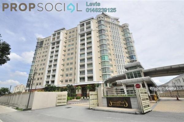 For Rent Condominium at Sutramas, Dutamas Freehold Semi Furnished 4R/4B 3k