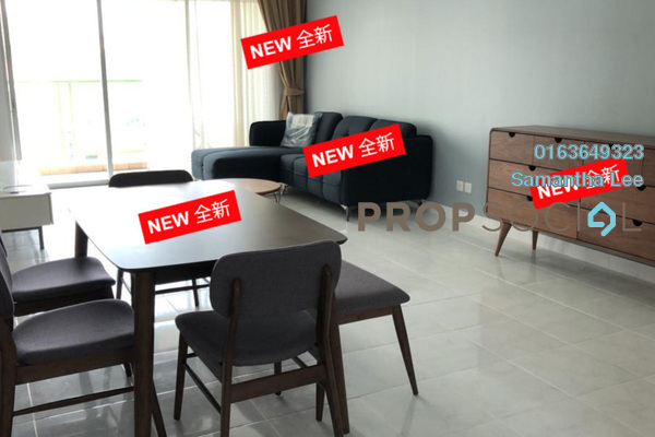 For Rent Condominium at Kiara Designer Suites, Mont Kiara Freehold Fully Furnished 3R/2B 3.3k