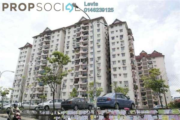 For Rent Condominium at Genting Court, Setapak Freehold Semi Furnished 3R/2B 1.2k