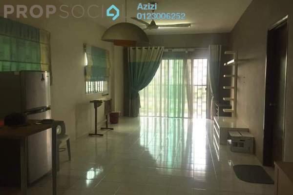 For Sale Condominium at Indahria Apartment, Shah Alam Freehold Semi Furnished 3R/2B 325k