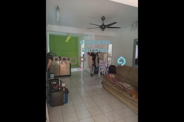 For Sale Apartment at Sri Cempaka Apartment, Bandar Puchong Jaya Freehold Semi Furnished 3R/2B 290k
