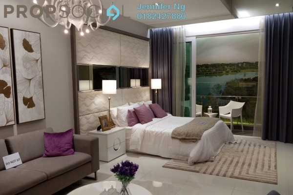 For Sale Serviced Residence at Dorsett Place, Subang Jaya Freehold Fully Furnished 1R/1B 330k