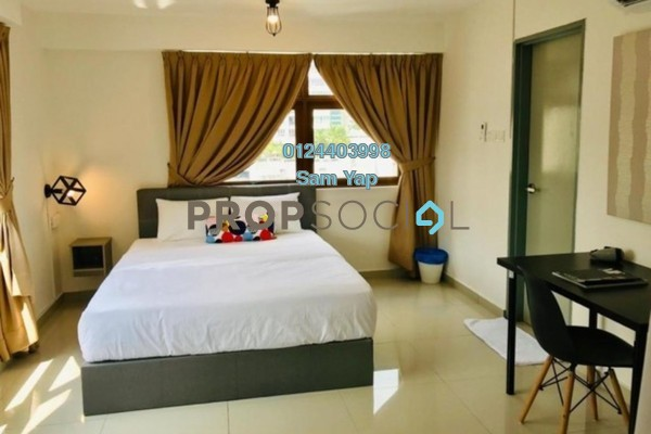 For Sale Serviced Residence at Pinnacle Tower, Johor Bahru Freehold Fully Furnished 2R/1B 725k