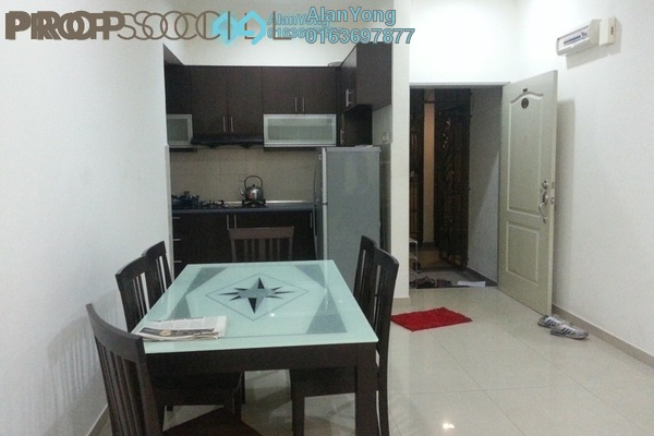 For Rent Condominium at Putra Majestik, Sentul Freehold Semi Furnished 3R/2B 1.65k
