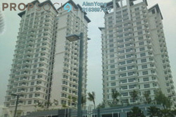 For Rent Condominium at 1Sentul, Sentul Freehold Semi Furnished 3R/2B 1.7k