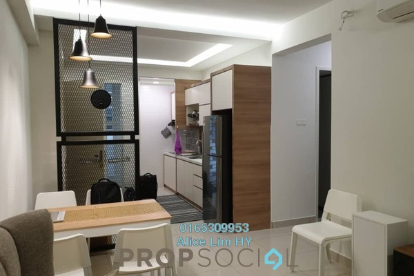 For Rent Condominium at Tropicana Bay Residences, Bayan Indah Freehold Fully Furnished 2R/2B 2.5k
