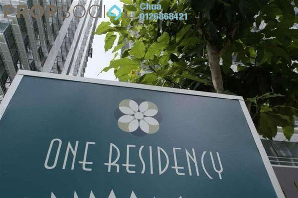 For Rent Serviced Residence at One Residency, Bukit Ceylon Freehold Fully Furnished 3R/2B 5k