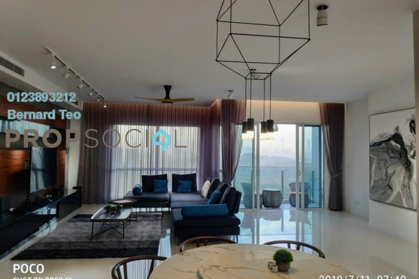 For Rent Condominium at Pavilion Hilltop, Mont Kiara Freehold Fully Furnished 3R/3B 13k