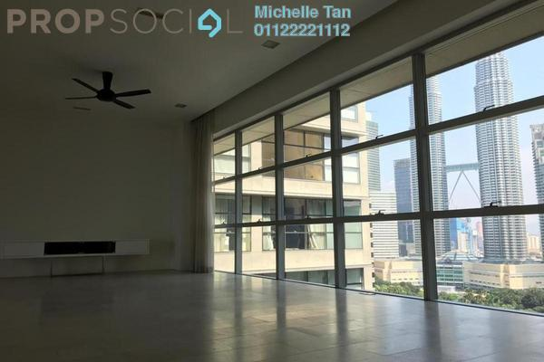 For Rent Condominium at Park Seven, KLCC Freehold Semi Furnished 4R/5B 14k