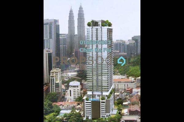 For Sale Condominium at Anggun Residences, Dang Wangi Freehold Fully Furnished 1R/1B 1.05m