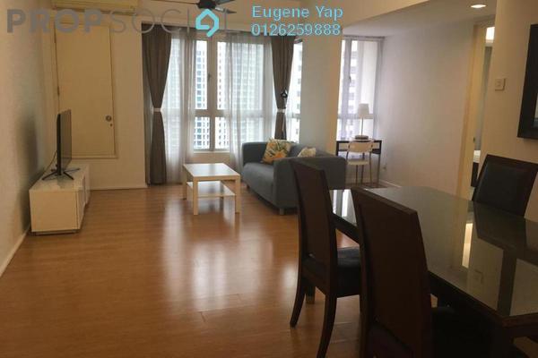 For Rent Serviced Residence at i-Zen Kiara I, Mont Kiara Freehold Fully Furnished 2R/2B 3k