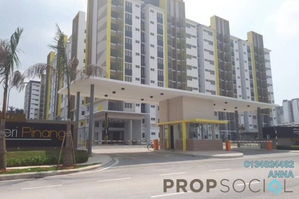 For Sale Apartment at Seri Pinang Apartment, Setia Alam Freehold Unfurnished 3R/2B 311k