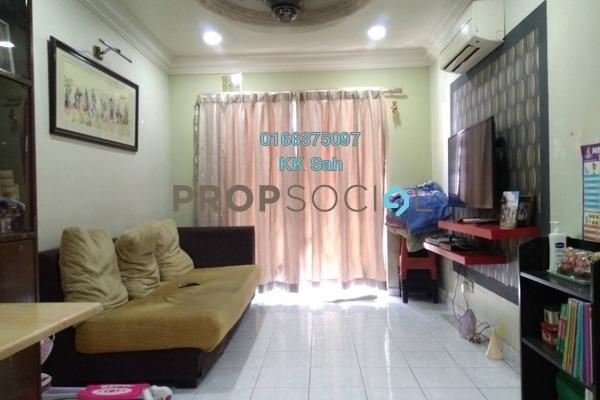 For Sale Apartment at Taman Sepakat Indah, Kajang Freehold Semi Furnished 3R/2B 260k