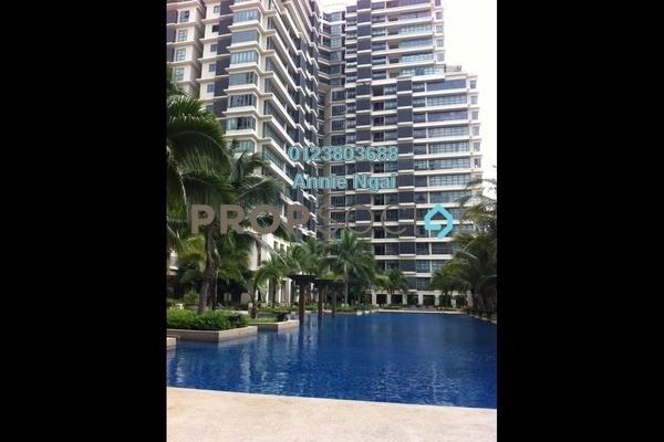 For Rent Condominium at LakePark Residence @ KL North, Selayang Freehold Semi Furnished 3R/3B 2.2k