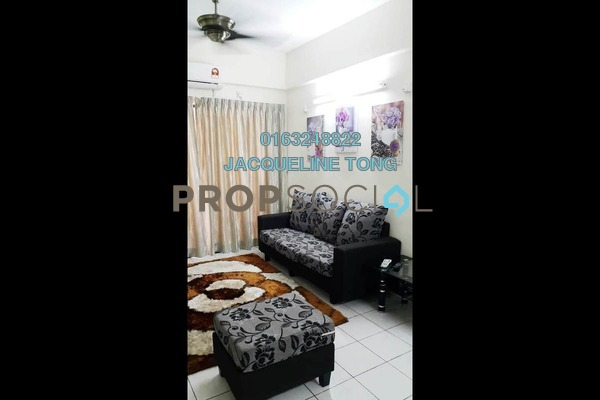 For Rent Condominium at Vista Millennium, Puchong Freehold Fully Furnished 3R/2B 1k