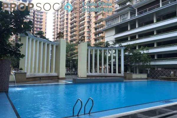 For Rent Condominium at Platinum Hill PV8, Setapak Freehold Fully Furnished 3R/2B 1.6k