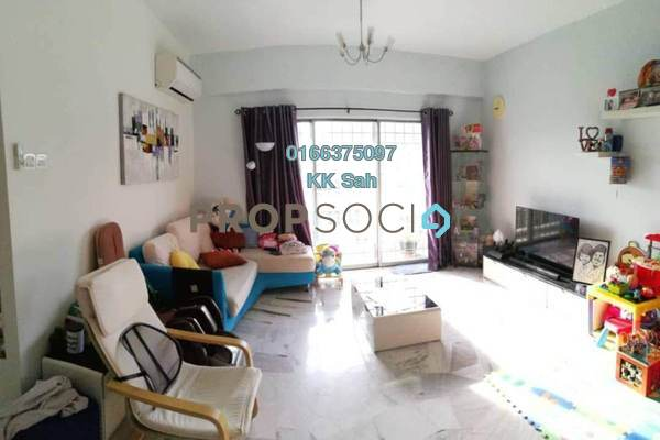 For Sale Condominium at Petaling Indah, Sungai Besi Freehold Semi Furnished 2R/2B 270k