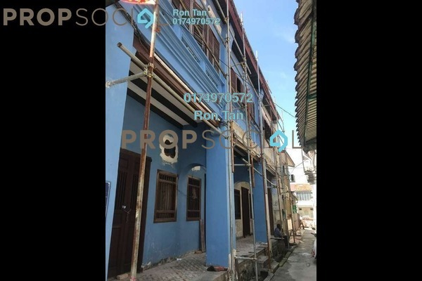 For Sale Terrace at Lorong Stewart, Georgetown Freehold Unfurnished 3R/2B 1.7m