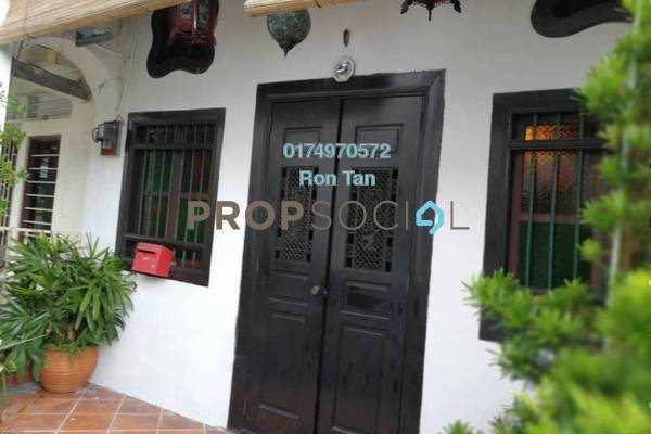 For Sale Terrace at Lebuh Armenian, Georgetown Freehold Semi Furnished 3R/2B 2.3m