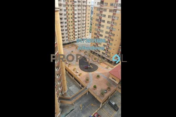 For Rent Condominium at Melur Apartment, Sentul Freehold Semi Furnished 3R/2B 1.3k