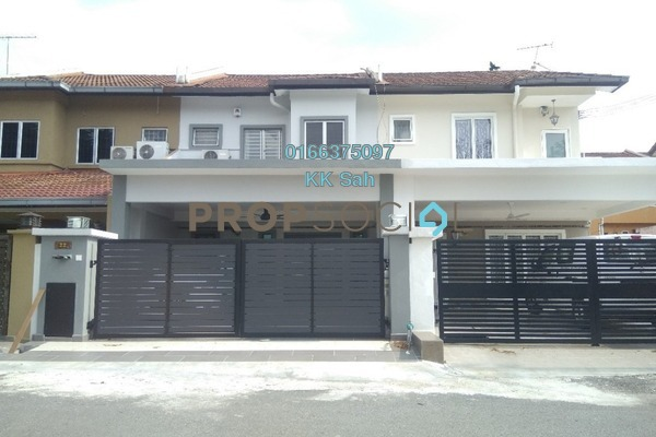 For Sale Terrace at Section 2, Bandar Mahkota Cheras Freehold Fully Furnished 4R/3B 650k