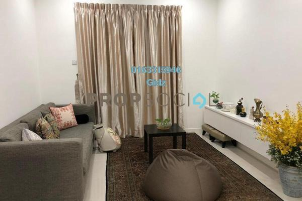 For Sale Serviced Residence at South View, Bangsar South Freehold Semi Furnished 3R/2B 950k
