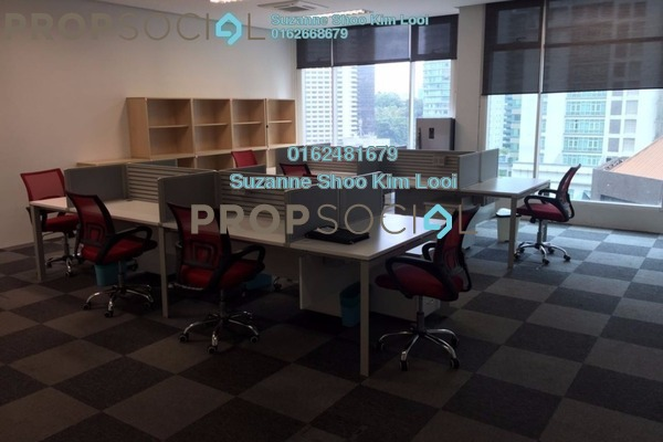 For Rent Office at Soho Suites, KLCC Freehold Fully Furnished 0R/0B 3.9k