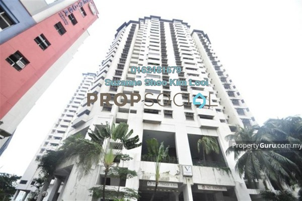 For Rent Condominium at The Vistana Residences, Titiwangsa Freehold Semi Furnished 3R/2B 2.5k