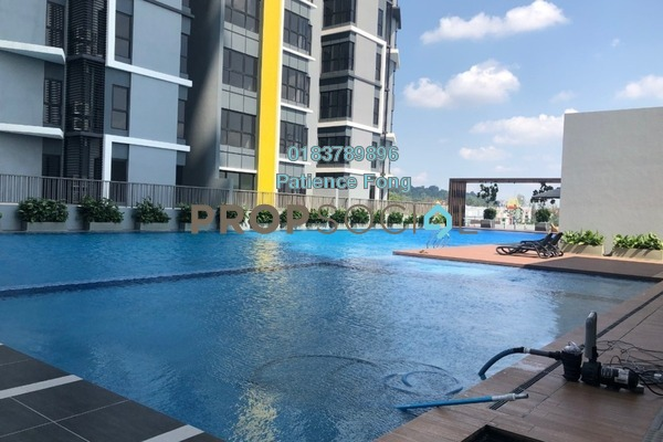 For Rent Condominium at Le Pavillion, Bandar Puteri Puchong Freehold Semi Furnished 3R/2B 1.8k