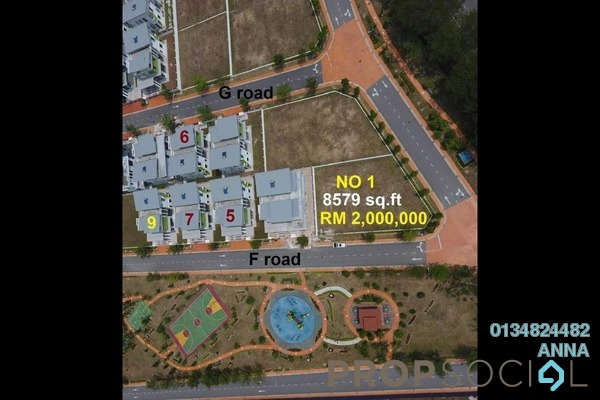 For Sale Land at Casa Sutra, Setia Alam Freehold Unfurnished 1R/1B 2m