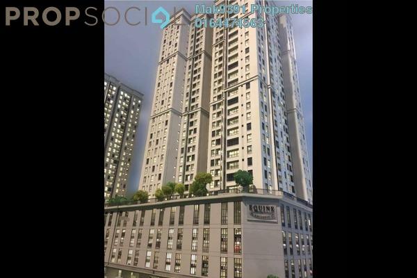 For Sale Serviced Residence at Taman Equine, Seri Kembangan Leasehold Semi Furnished 3R/2B 380k