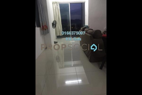 For Rent Condominium at Mahkota Residence, Bandar Mahkota Cheras Freehold Semi Furnished 4R/3B 1.3k