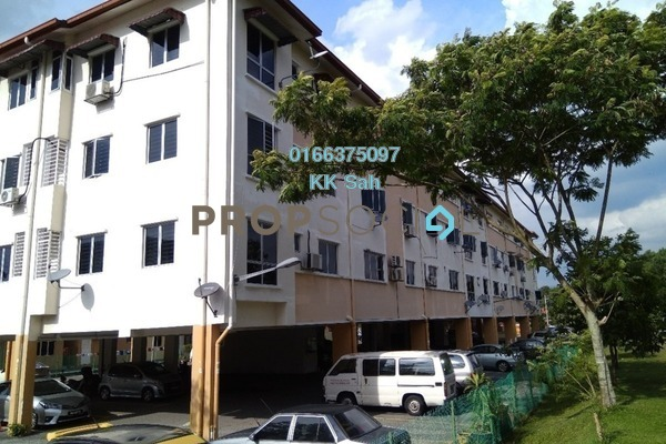 For Rent Apartment at Section 1, Bandar Mahkota Cheras Freehold Semi Furnished 3R/2B 900translationmissing:en.pricing.unit