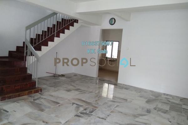 For Rent Terrace at Section 3, Bandar Mahkota Cheras Freehold Semi Furnished 4R/3B 1k