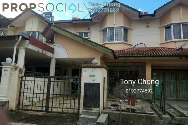 For Sale Terrace at Taman Juara Jaya, Seri Kembangan Freehold Semi Furnished 4R/3B 568k