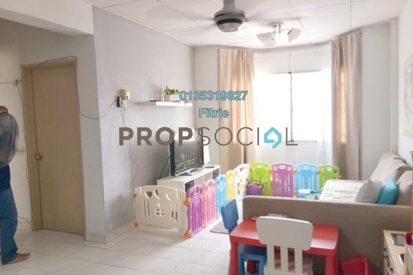 For Sale Apartment at Carmila Apartment, Kota Damansara Freehold Semi Furnished 3R/2B 290k