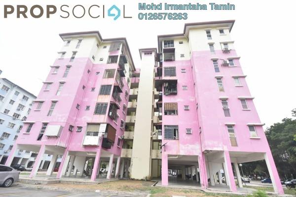 For Sale Apartment at Salvia Apartment, Kota Damansara Freehold Semi Furnished 3R/2B 318k
