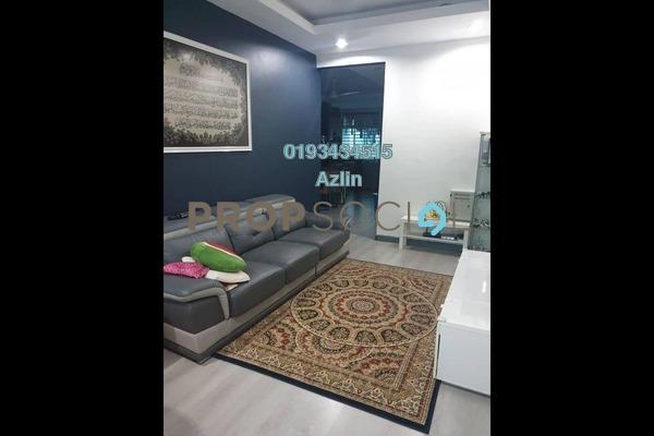 For Sale Townhouse at Taman Aman Permai, Kajang Freehold Semi Furnished 3R/2B 400k