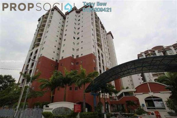 For Rent Condominium at Ketumbar Hill, Cheras Freehold Semi Furnished 4R/2B 1.8k