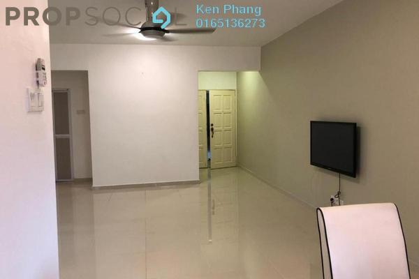 For Rent Apartment at Ixora Apartment, Pudu Freehold Semi Furnished 3R/2B 1.8k
